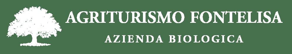 Logo Agriturismo Fontelisa bianco